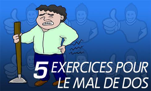 les 5 meilleurs exercices pour le mal de dos