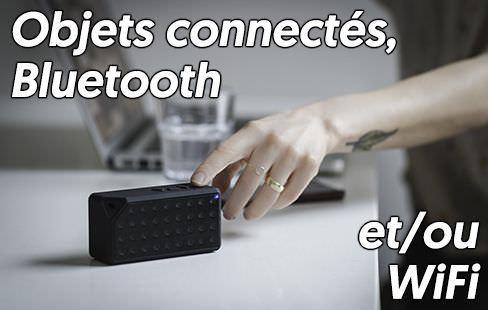 avis et tests des meilleurs objets connectés, compatibles avec le réseau domestique Wi-Fi ou Bluetooth
