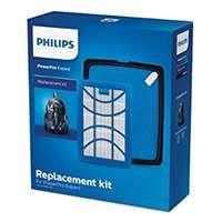 Philips fc8003/01 Kit Filtre de rechange pour aspirateur sans sac, blanc