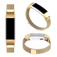 Pour Fitbit Alta HR et Fitbit Alta Bracelet, Réglable en Acier Inoxydable Milanaise Bracelet de Rechange avec Fermoir Fermeture Magnétique