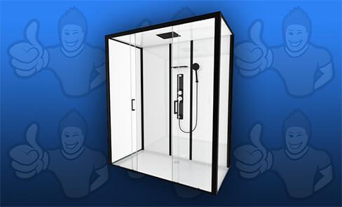cabine de douche comparatif