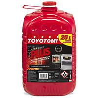 Toyotomi plus20l plus combustible pour Stoves 20 litres, aromatisants < 0.00500%