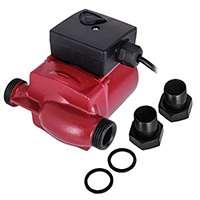 SucceBuy 220V/50Hz Pompe à Eau Surpresseur Water Pressure Booster Pump Pompe de Surpression Submersible Pour Puits Jardin Fontaine Aquarium Piscine (LPS20-11-40/60/75w)