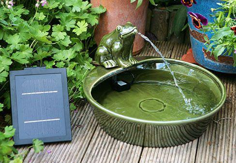 Top 5 meilleures fontaines à énergie solaire