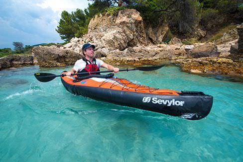 Top 5 meilleurs kayaks portables à gonfler