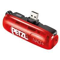 Petzl Nao+ Accessoire d'éclairage Rouge/Noir
