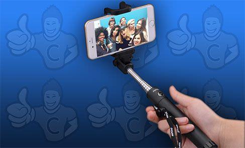 perche à selfie comparatif