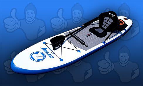 comparatif planche de paddle gonflable