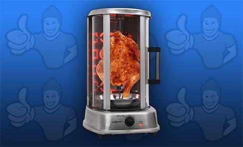 rôtissoire verticale pour poulet : notre comparatif top 5