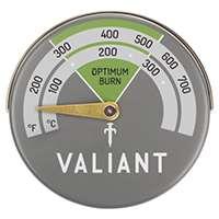 Valiant FIR116 Thermomètre magnétique - Vert/gris