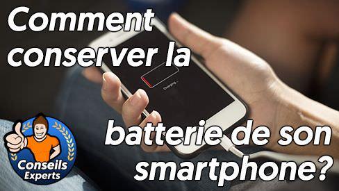 Comment conserver la batterie de son smartphone?