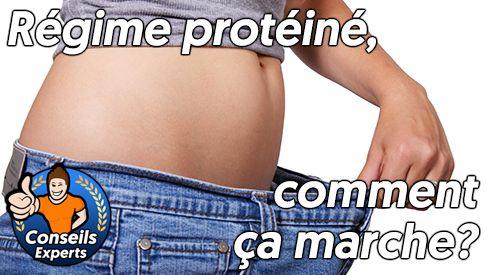 Comment fonctionne un régime protéiné?