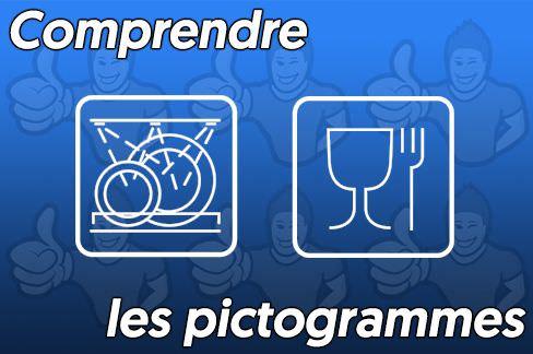 Comprendre les pictogrammes pour la vaisselle