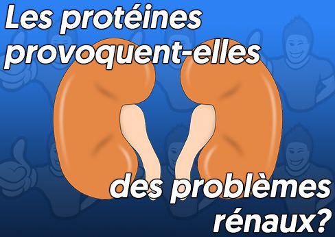protéines et troubles rénaux