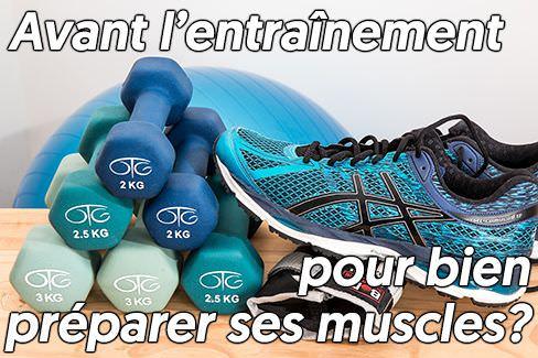 Shake avant le training pour bien préparer ses muscles au stimulus d'entraînement?