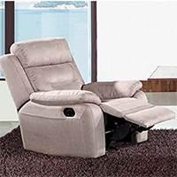 Gagnant meilleurs fauteuils recliner 2018 - Fauteuil relax électrique en microfibre Accio de Tousmesmeubles