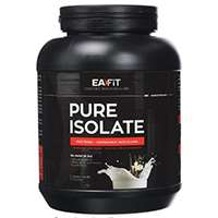 Avis sur  EAFIT Pure Isolate Protéine Whey Fruits Rouges 750 g