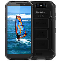 Blackview BV9500 Télephone Indestructible 10000mAh Grande Batterie avec Charge sans Fil Étanche IP69K