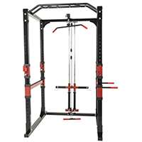 Avis sur Station de traction - Cage à Squat - poulie haute et bas charge guidée - Power Lifting Gorilla sports